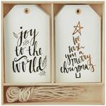 Joy To The World Gift Tags - KaiserCraft