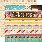 Border Strips Paper - Happiness Is Homemade - Echo Park