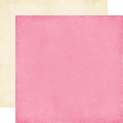 Pink - Cream Paper - Happiness Is Homemade - Echo Park