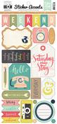 Everyday Memories Sticker Sheet - Echo Park