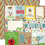 Journaling Card Paper - Bug Collection - Echo Park