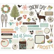 Winter Wonderland Bits & Pieces - Simple Stories