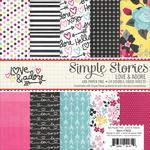Love & Adore 6 x 6 Paper Pad - Simple Stories