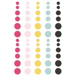 Love & Adore Enamel Dots - Simple Stories