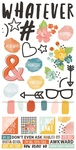 #Whatever Cardstock Stickers - Simple Stories