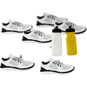 Sneaker - Eyelet Outlet Shape Brads 12/Pkg