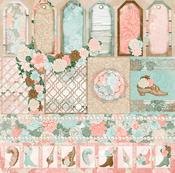 Trellis Paper - Felicity - Bo Bunny