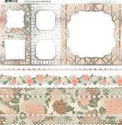 Felicity Foil Vellum Paper - Bo Bunny