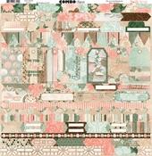 Felicity Combo Sticker Sheet - Bo Bunny