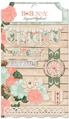 Felicity Layered Chipboard - Bo Bunny