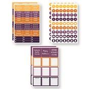 October Planit Now Sticker Set - Reminisce