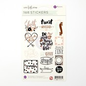 Stickers - Love Faith Scrap - My Prima Planner