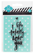 Love You Stamp & Stencil Set - Heidi Swapp