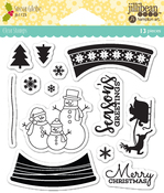 Snow Globe Clear Stamps - Jillibean Soup