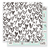 Snuggles Paper - Heart Day - Crate Paper