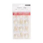 XO Paper Clips - Heart Day - Crate Paper