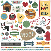 Cooper & Friends Element Sticker Sheet - Photoplay