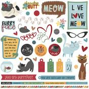 Roxie & Friends Element Sticker Sheet - Photoplay