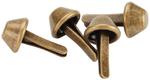 Antique Brass - Purse Feet 10mm 4/Pkg
