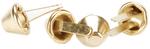 Gold - Purse Feet 10mm 4/Pkg