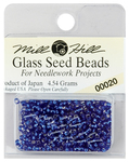 Royal Blue - Mill Hill Glass Seed Beads 4.54g