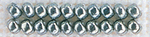 Silver Moon - Mill Hill Antique Glass Seed Beads 2.5mm 2.63g