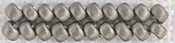 Pewter - Mill Hill Antique Glass Seed Beads 2.5mm 2.63g