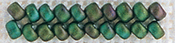 Autumn Green - Mill Hill Antique Glass Seed Beads 2.5mm 2.63g