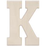 "K - Baltic Birch University Font Letters & Numbers 5.25"""