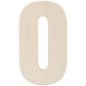 """Baltic Birch University Font Letters & Numbers 5.25"""""""