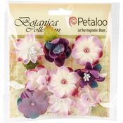 "Purple - Botanica Baby Blooms 1.25"" 9/Pkg"