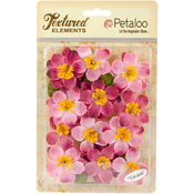 "Pink - Textured Elements Briar Rose Canvas 2"" 12/Pkg"