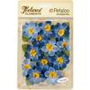 "Blue - Textured Elements Briar Rose Canvas 2"" 12/Pkg"