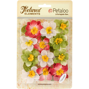 "Holiday Mix - Textured Elements Briar Rose Canvas 2"" 12/Pkg"