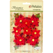 Red - Botanica Regal Velvet Poinsettia 12/Pkg