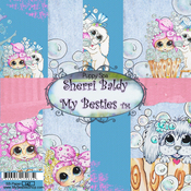 "Puppy Spa - My Besties Single-Sided Paper 6""X6"" 8/Pkg"