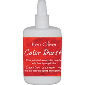 Cadmium Scarlet - Ken Oliver Color Burst Powder 6gm