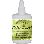 Olive Green - Ken Oliver Color Burst Powder 6gm