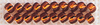 Brilliant Copper** - Mill Hill Glass Seed Beads 4.54g