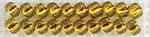 Golden Olive** - Mill Hill Glass Seed Beads 4.54g