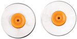 28mm Straight - Fiskars Rotary Trimmer Replacement Blade 2/Pkg