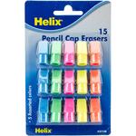 15/Pkg - Pencil Cap Erasers