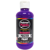 Purple - Washable Poster Paint 8oz