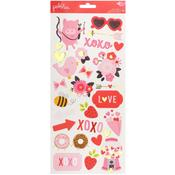 My Funny Valentine Icon Stickers - Pebbles