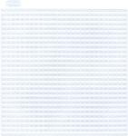 """Squares Clear - Plastic Canvas Shapes 7 Count 4"""" 10/Pkg"""