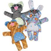 L Die - Bear/Bunny/Cat By Jen Jangles - Sizzix Bigz Dies Fabi Edition