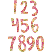 Alphabet Set 2 - Fresh Blossoms Numbers - Sizzix Bigz Dies Fabi Edition