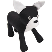 "XL 25"" Die - French Bulldog By Kid Giddy - Sizzix Bigz Dies Fabi Edition"