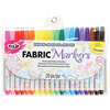 Fine Line Assorted Colors - Tulip Writers Fabric Marker Set 20/Pkg