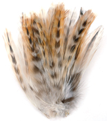 Natural - Strung Chinchilla Feathers
